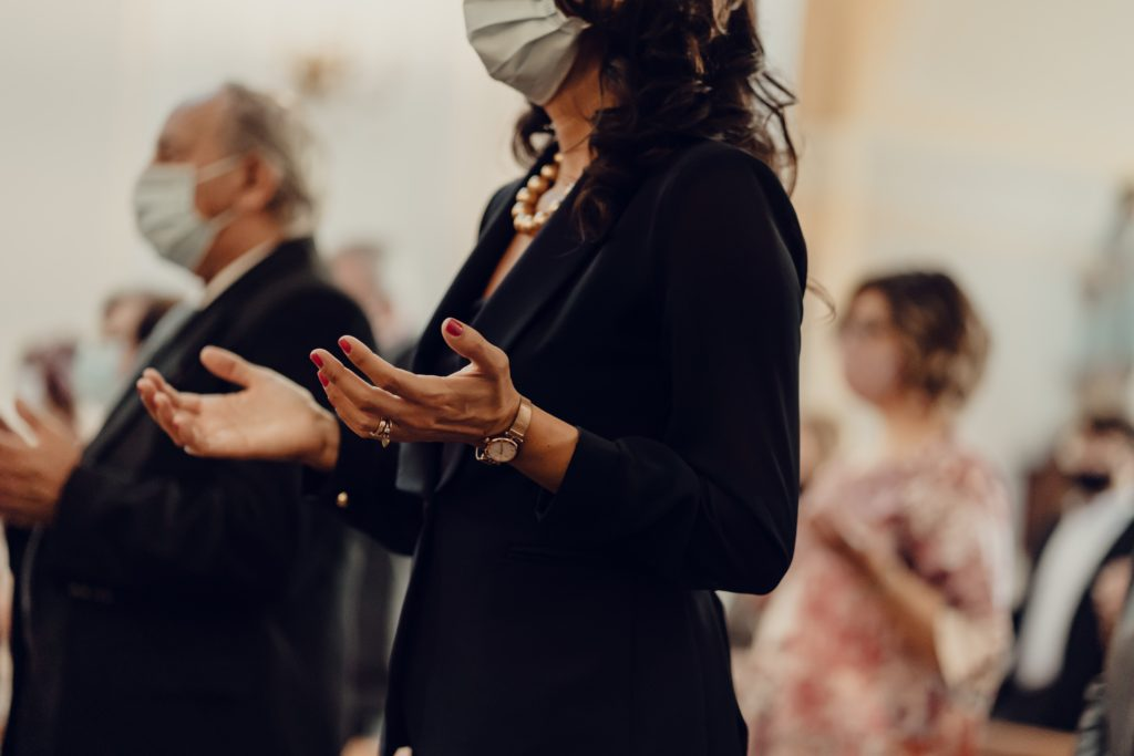 Masks in Church
